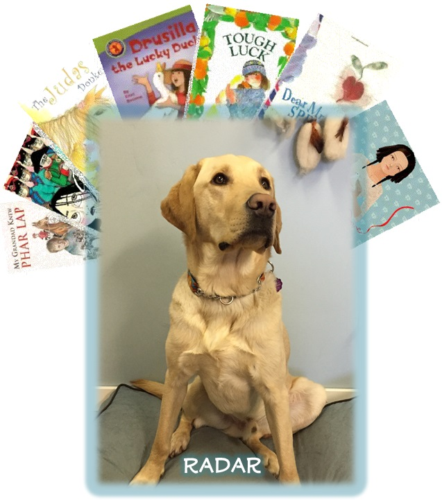 Reading with Radar @ Smithers Public Library