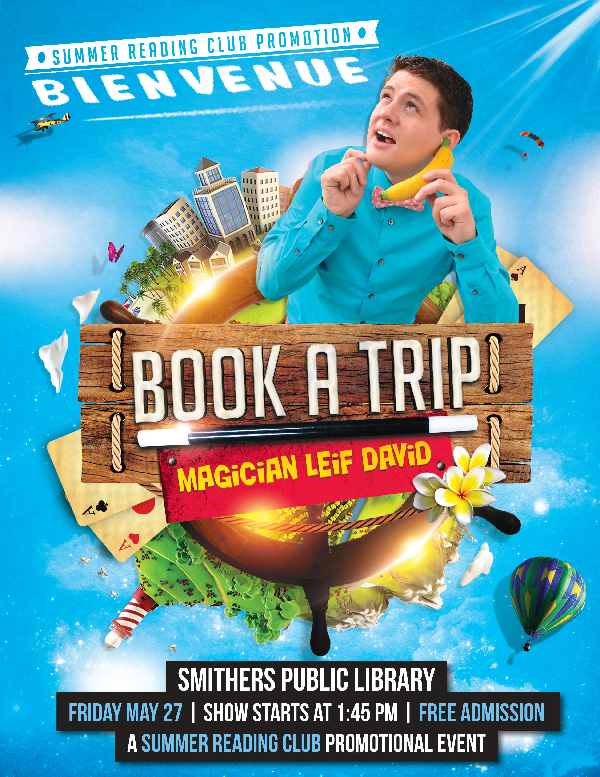Magic Show with Leif David @ Smithers Public Library
