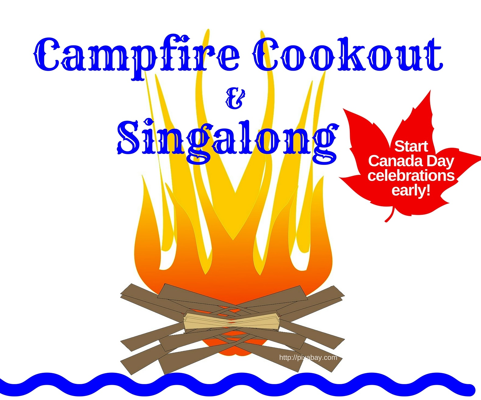 2nd Annual Campfire Singalong @ Riverside Park