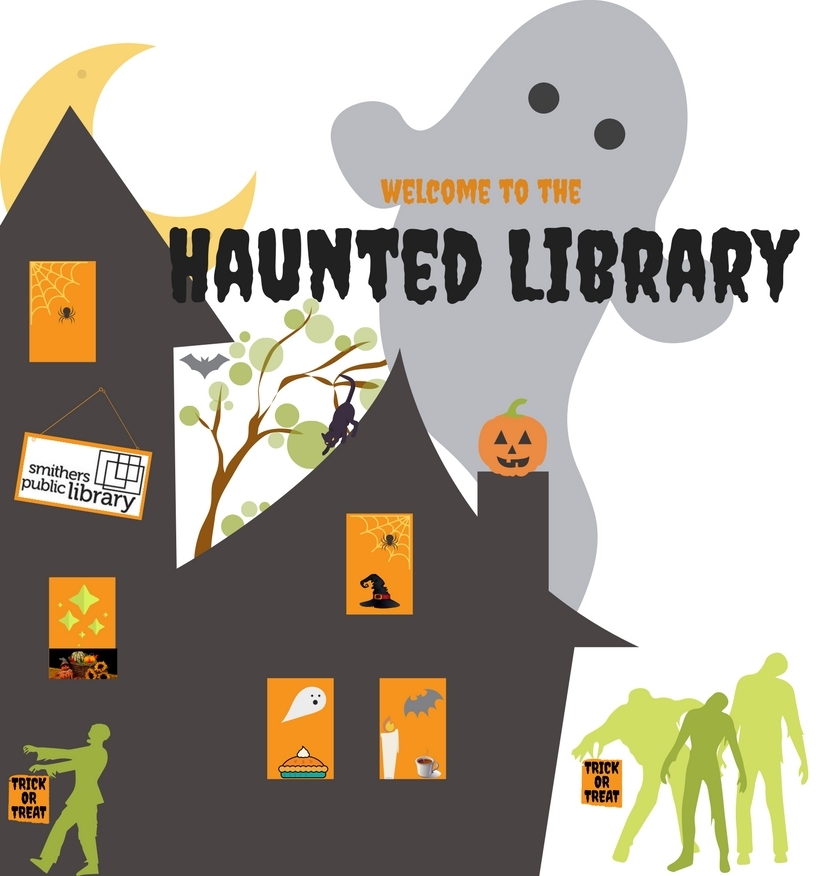 Haunted Library @ Smithers Public Library