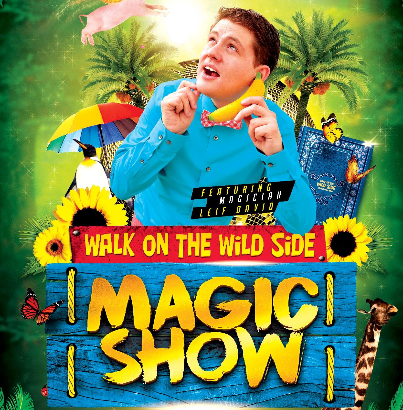 Leif David Magic Show @ Walnut Park School
