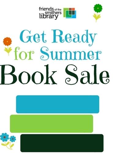 Pre-summer Book Sale graphic