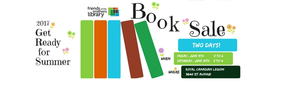 Spring Used Book Sale! click for details...