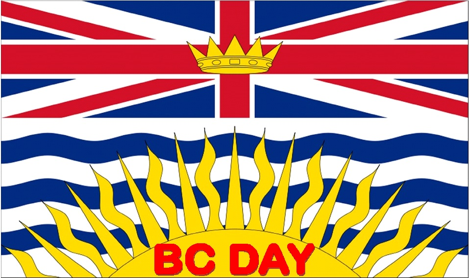 BC Day flag