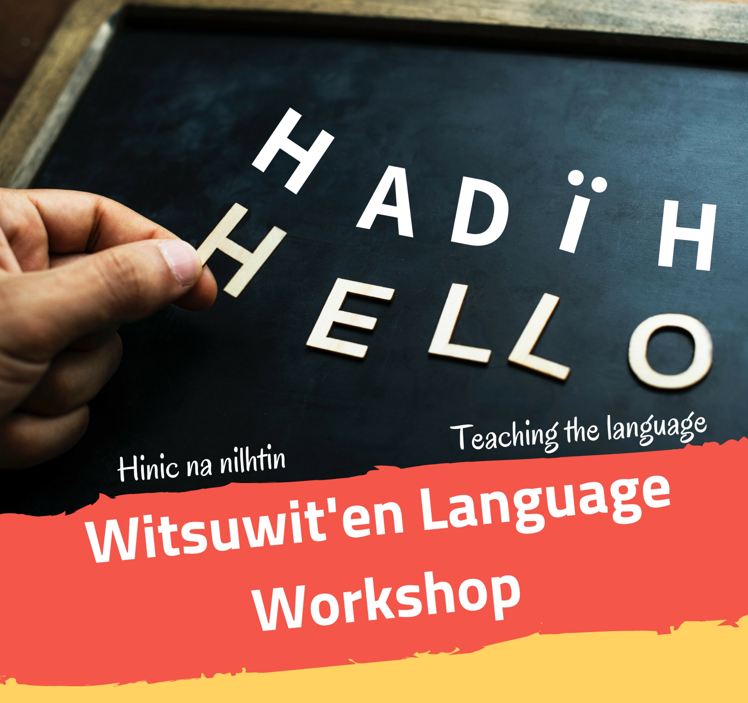 Witsuwit'en Language Workshop @ Smithers Public Library