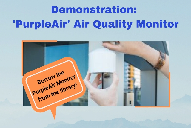 Demonstration: Air Quality Monitoring @ Smithers Public Library