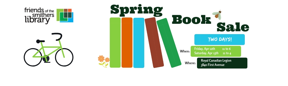Two days... tons of books! Don't miss the Spring Book Sale