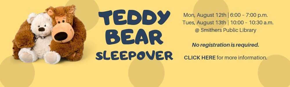 It's time for another Teddy Bear Sleepover!