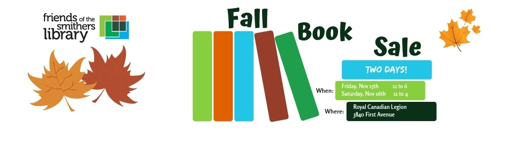 We're accepting donations for the Fall Book Sale!
